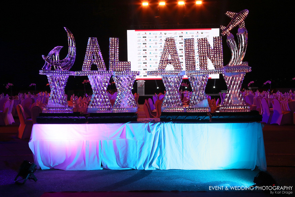 Gala Ceremony for the Al Ain Air Championships by Northamptonshire event photographer Karl Drage