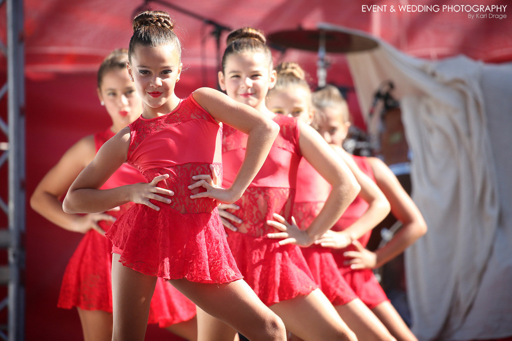 One of several performing arts troupes that performed during the 2016 Gibraltar National Day celebrations - by Northamptonshire photographer Karl Drage