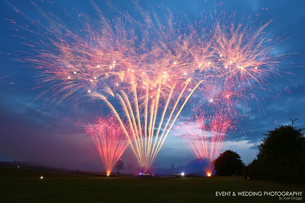 Fireworks at a'celebration of life' event I photographed.