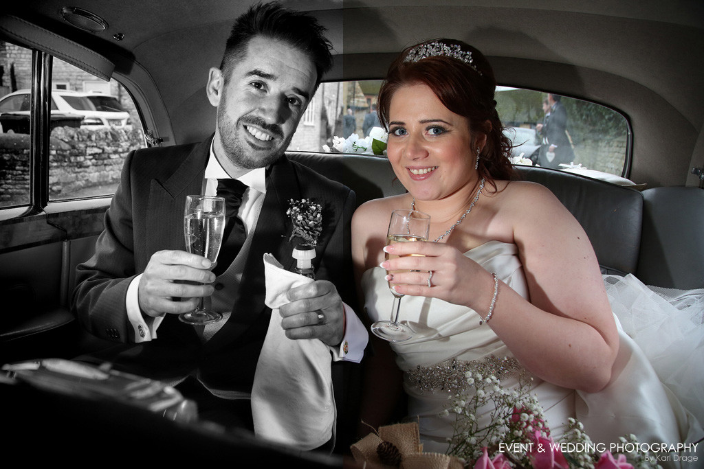 My wedding photography clients receive all of their edited images in both colour and black & white.