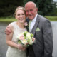 Proud as punch! The Bride and her father.