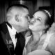 A kiss for the Bride on her wedding day from her son.