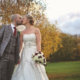 Gorgeous autumn colours for this wedding at Abbey Hill Golf Centre.