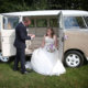 Another VW Campervan wedding, this time at Grendon Lakes.