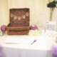 Beautifully-presented wedding marquee.