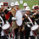 The Band of the Royal Marines.