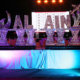 An ice sculpture at the closing gala ceremony of the Al Ain Air Championships.